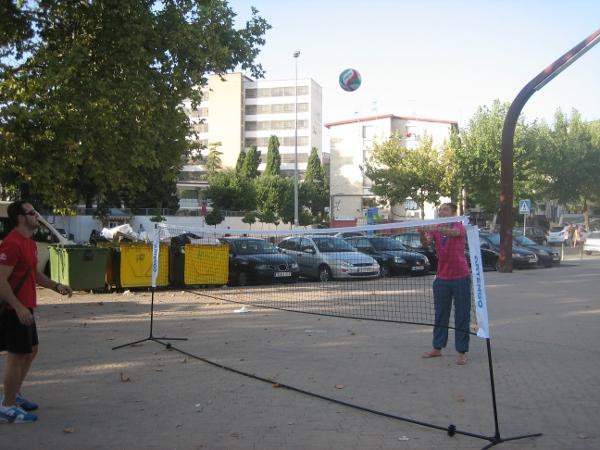 promocionando el voleibol Guadalquivir Futuro