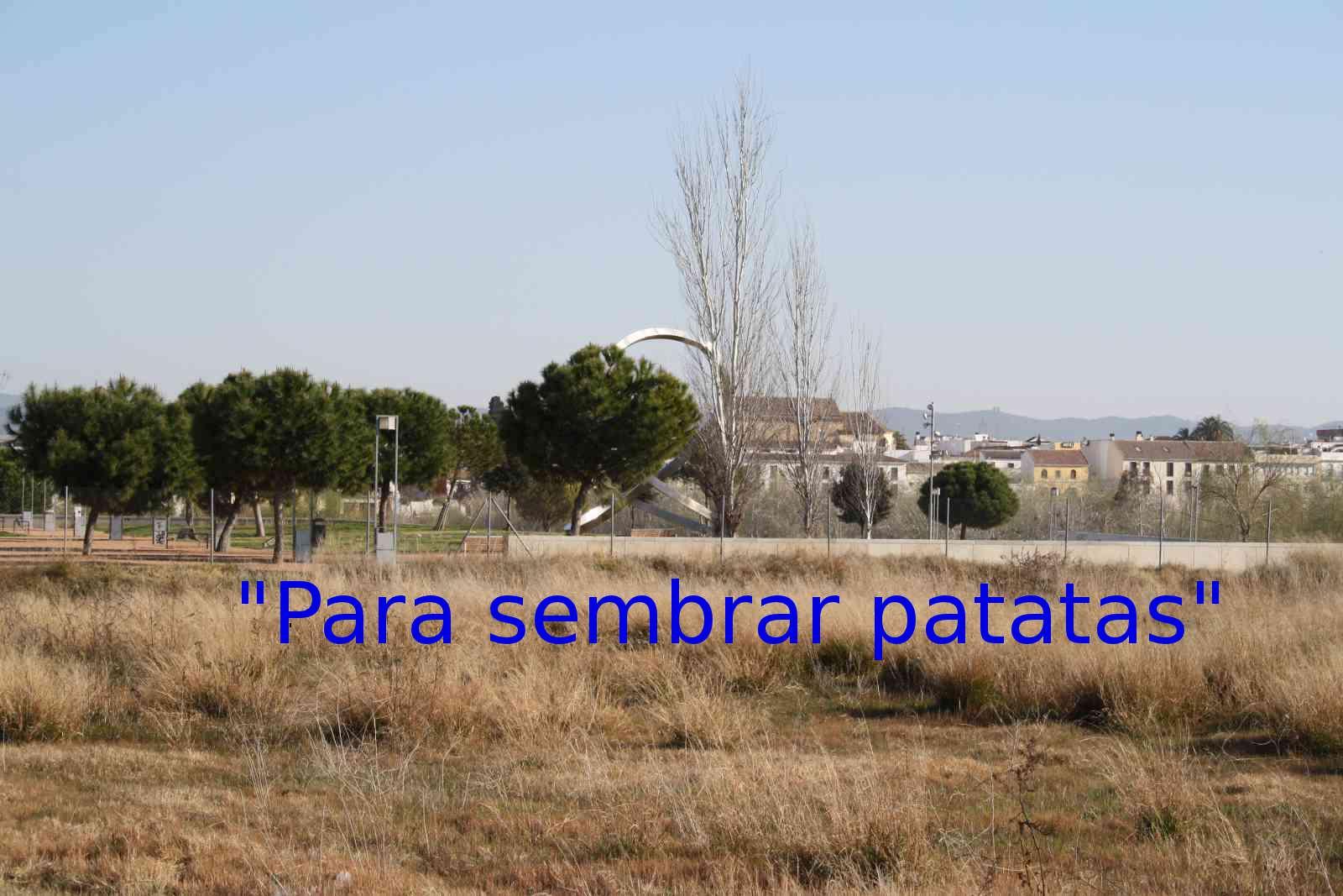 """PARA SEMBRAR PATATAS"""