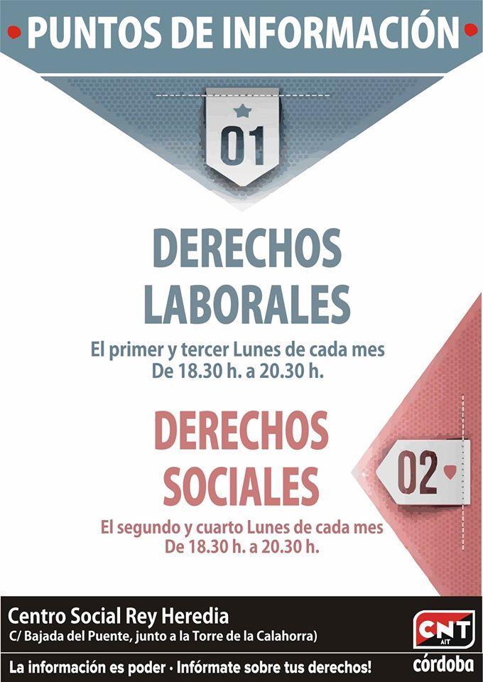 derechos laborales y sociales